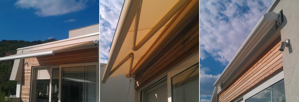 Stig - Tenda Barra quadra cassonetto hermetico - Spoljašnja zaštita od sunca