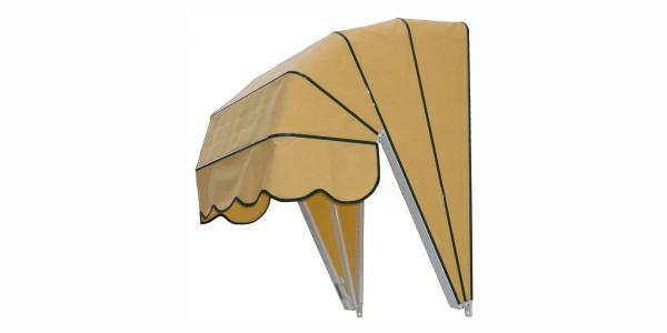 Cascade polukružna tenda
