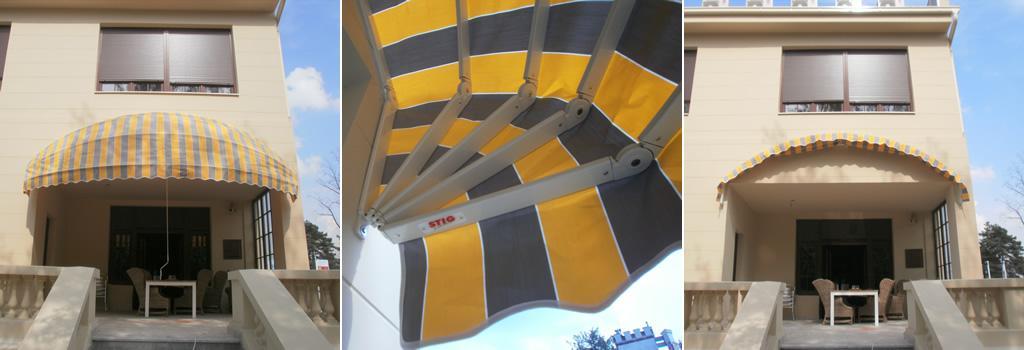 Stig - Tenda Ellisse - Spoljašnja zaštita od sunca
