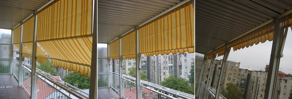 Stig - Tenda Ribalta - Spoljašnja zaštita od sunca