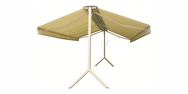 Baštenska tenda Roma Quadra