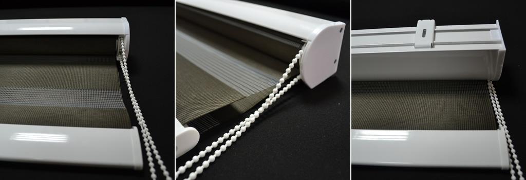 Stig - Rolo zavese - Dupli rolo mehanizam u polukaseti